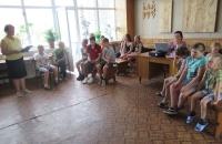 Урок по теме «Береги природу!» в Шашковском клубе
